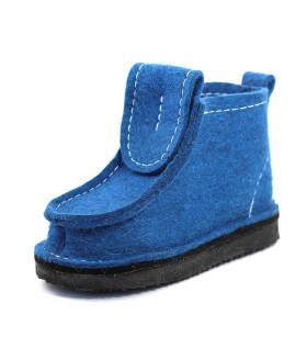 Валеши синие на подошве ЭВА
