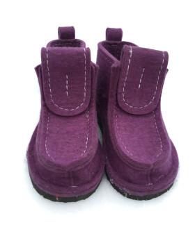 Валеши фиолетовые на подошве ЭВА