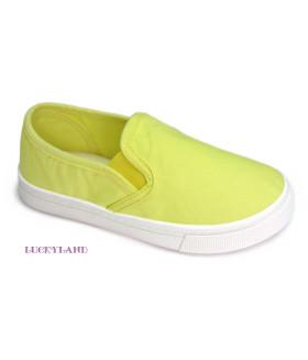 Кеды детские LuckyLand Россия 2459LCD/Lemon цвет Желтый