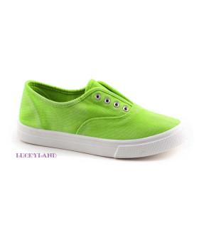 Кеды детские LuckyLand Россия 2462LKD/Green зеленые