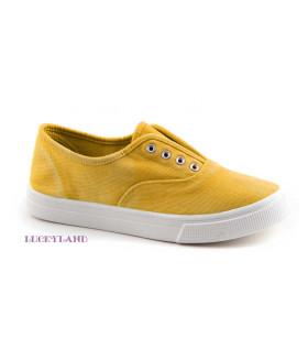 Кеды детские LuckyLand Россия 2462LKD/Yellow цвет Желтый