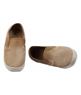2455 M-beige Обувь повседневная мужская (туфли)