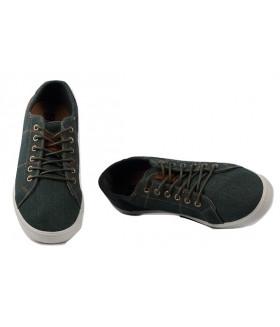 2457 M-green Обувь повседневная мужская (полуботинки)