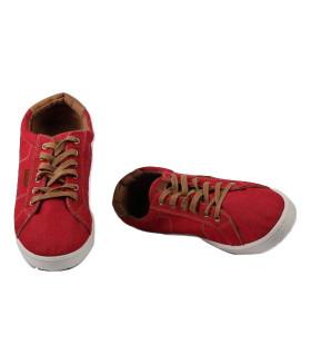 2458 M-red Обувь повседневная мужская (полуботинки)