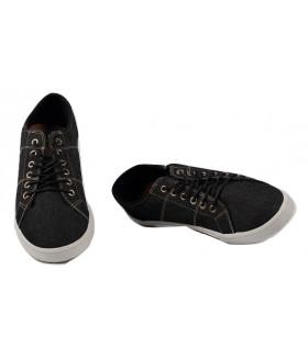 2457 M-black Обувь повседневная мужская (полуботинки)