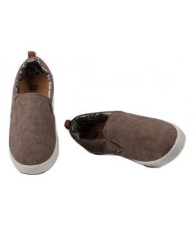 2453 M-brown Обувь повседневная мужская (туфли)