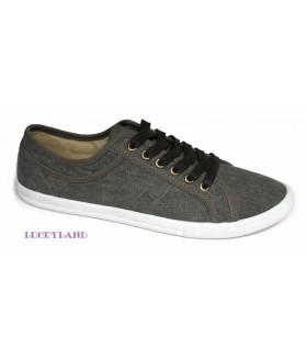 2392 M-grey Обувь повседневная мужская (полуботинки)