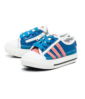 Кеды детские Германия Sneakers 001-27/KDG BLAU/ORANGE голубой
