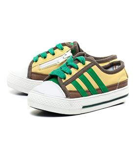 Кеды детские Германия Sneakers 001-27/KDG GELB/GRUN зеленый