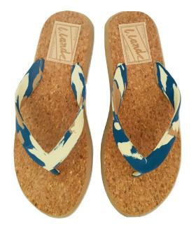 Шлепанцы пляжные мужские 2536LTM Россия цвет Синий