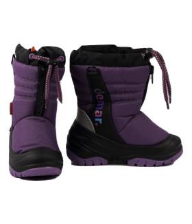 Сноубутсы зимние TEDDY ПОЛЬША 4032 фиолетовый