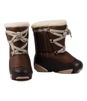 Сноубутсы зимние Joy ПОЛЬША 4019 коричневые