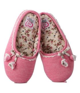 Детские домашние тапочки HAND MADE 1853LTD розовые