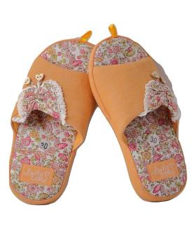 """Детские домашние тапочки """"PREMIUM"""" 1468LTD оранжевый цвет"""