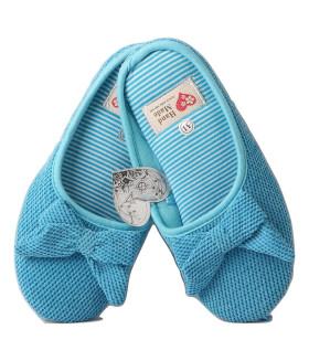Детские домашние тапочки HAND MADE 1850LTD голубой цвет