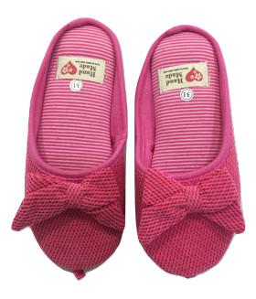 Детские домашние тапочки HAND MADE 1850LTD розовые