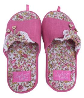 """Детские домашние тапочки """"PREMIUM"""" 1468LTD розовый цвет"""