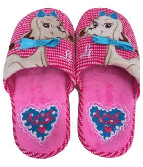 """Детские домашние тапочки """"PREMIUM"""" 081LTD розовый цвет"""