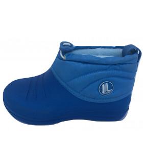 Галоши детские утепленные синие EVA 1591LGD