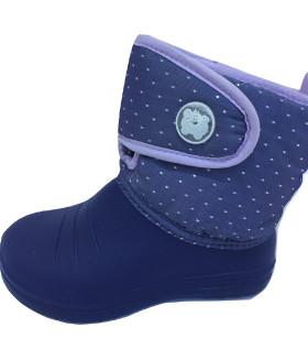 Дутики детские фиолетовые 1550LDD