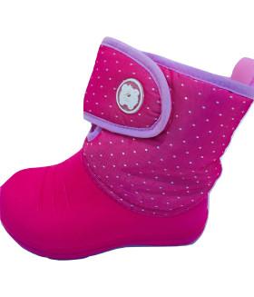 Дутики детские розовые 1550LDD