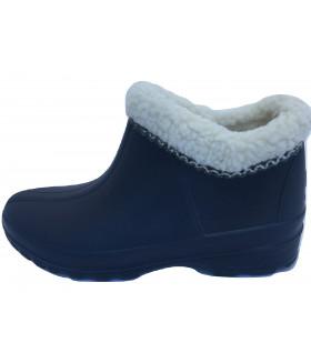 Галоши женские утепленные синие 2323LGJ
