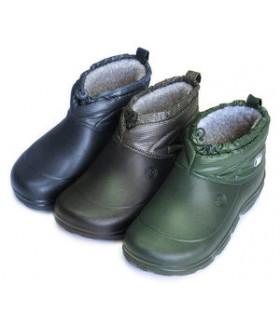 Галоши утеплённые мужские зеленые 2752LGM